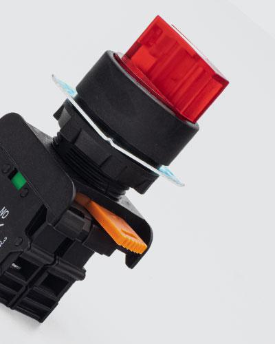 کلید کنترل و لامپ سیگنال